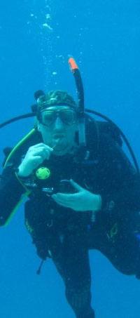 Red Diver