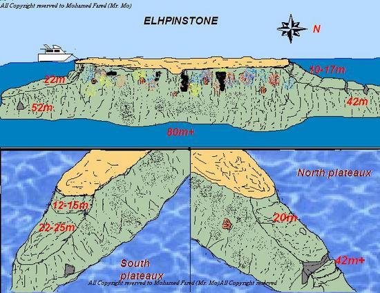 Elphinstone Reef Diving In Marsa Alam Egypt Wannadivenet - Map of egypt marsa alam