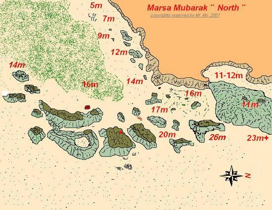 Marsa Mubarak Diving In Marsa Alam Egypt Wannadivenet - Map of egypt marsa alam