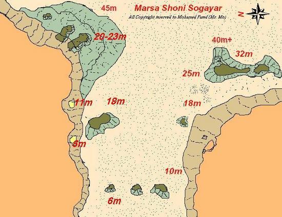 Marsa Shona Sogayar Diving In Marsa Alam Egypt Wannadivenet - Map of egypt marsa alam