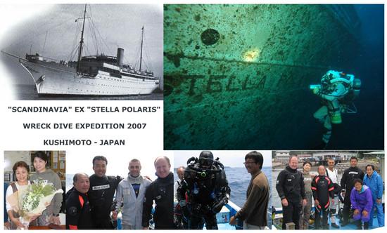 stella polaris wreck diving in honshu japan world dive site atlas. Black Bedroom Furniture Sets. Home Design Ideas